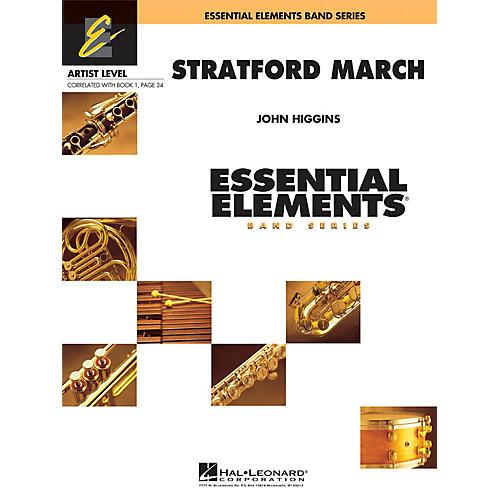 Hal Leonard Stratford March Concert Band Level 1 Composed by John Higgins