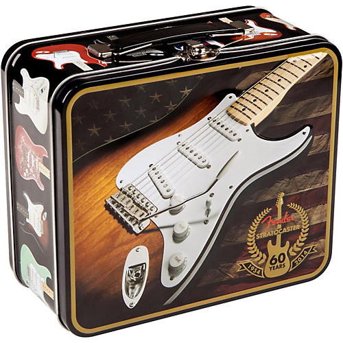 Fender Stratocaster 60th Anniversary Lunchbox