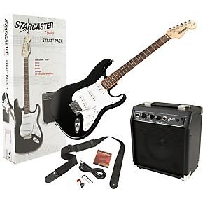 Electric Guitar Value Packs : starcaster by fender stratocaster electric guitar value pack musician 39 s friend ~ Russianpoet.info Haus und Dekorationen