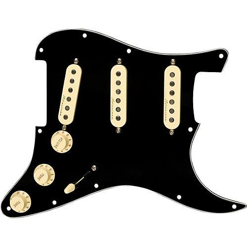 Fender Stratocaster SSS V Noiseless Pre-Wired Pickguard Black/White/Black