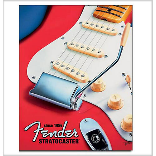 Fender Stratocaster Since 1954 Tin Sign