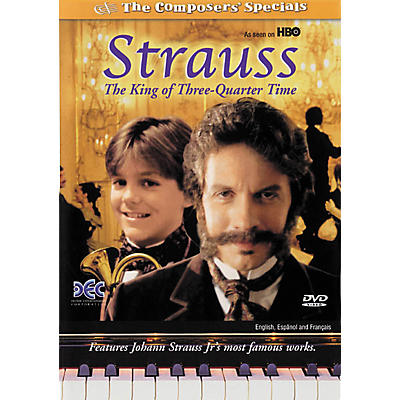 Devine Entertainment Strauss: The King of Three Quarter Time (DVD)