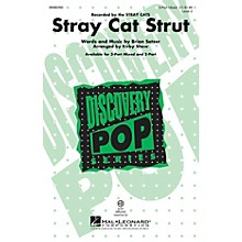 Hal Leonard Stray Cat Strut (Discovery Level 2) 3-Part Mixed by Brian Setzer arranged by Kirby Shaw