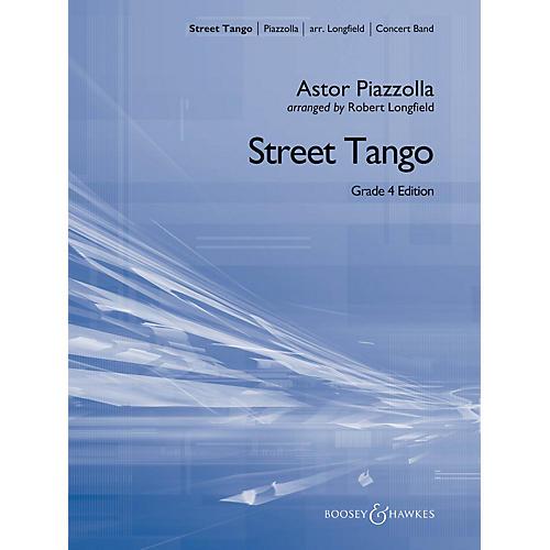 Hal Leonard Street Tango (grade 4) Full Score Concert Band