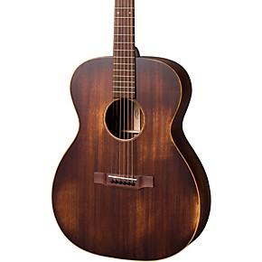 martin streetmaster series 000 15m auditorium left handed acoustic guitar natural musician 39 s. Black Bedroom Furniture Sets. Home Design Ideas