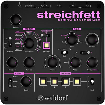 Waldorf Streichfett Desktop Synthesizer