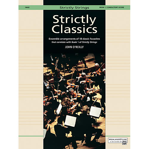 Alfred Strictly Classics Book 1 Conductor's Score