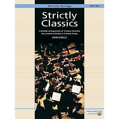 Alfred Strictly Classics Book 2 Bass