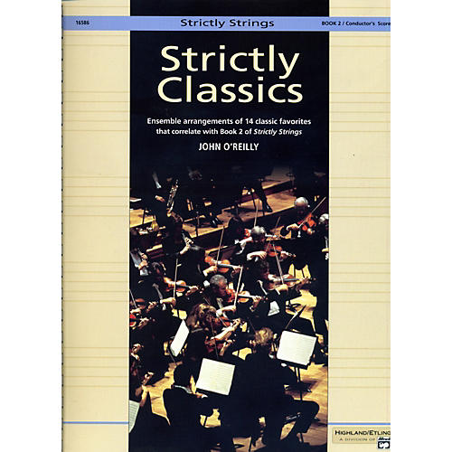Alfred Strictly Classics Book 2 Conductor's Score