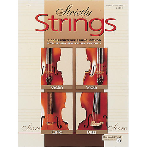 Alfred Strictly Strings Book 1 Conductor's Score