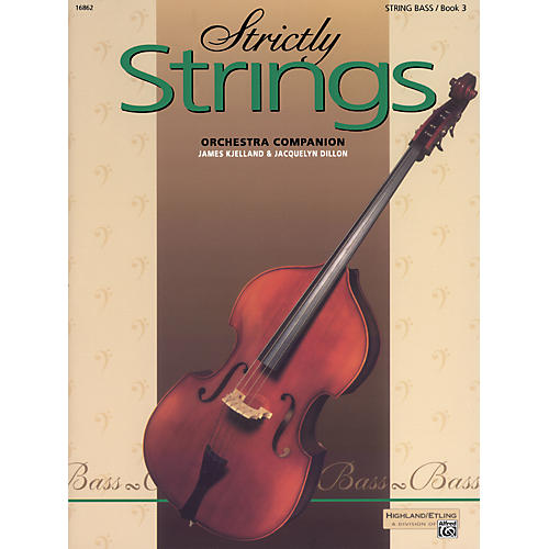 Alfred Strictly Strings Book 3 Bass