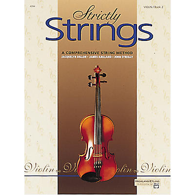 Alfred Strictly Strings Violin Book 2