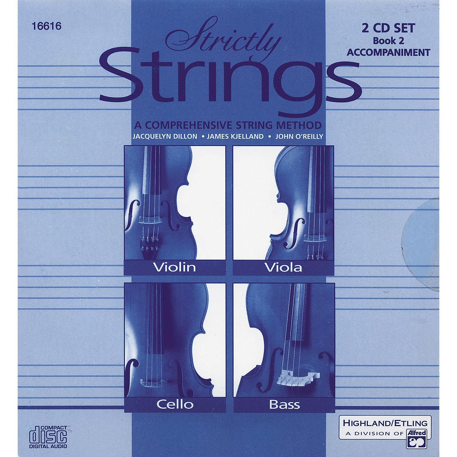 Alfred Strictly Strings Vol. 2 - 2 CD Set