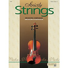Alfred Strictly Strings for Violin Vol. 3  Book