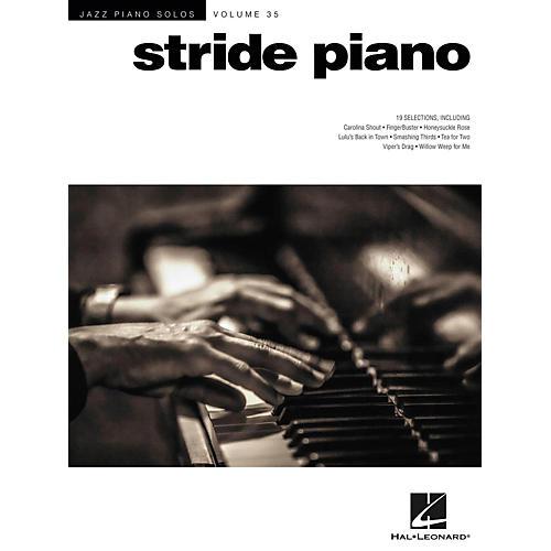 Hal Leonard Stride Piano - Jazz Piano Solos Series Vol. 35