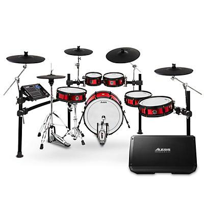 Alesis Strike Pro SE Electronic Drum Set and Alesis Strike 12 Drum Set Monitor