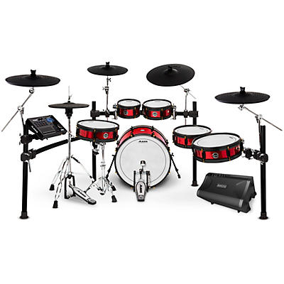 Alesis Strike Pro SE Electronic Drum Set and Simmons DA2110 Drum Set Monitor