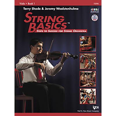 KJOS String Basics Book 1 for Viola