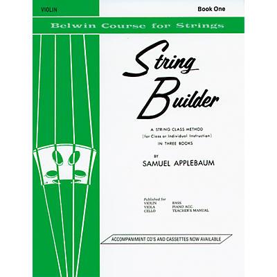 Alfred String Builder - Book 1