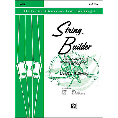 Alfred String Builder Viola Book I