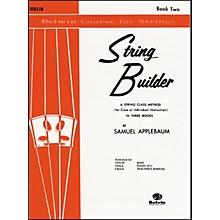 Alfred String Builder Violin Book II