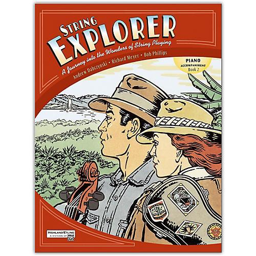 Alfred String Explorer Book 2 Piano Accomp.