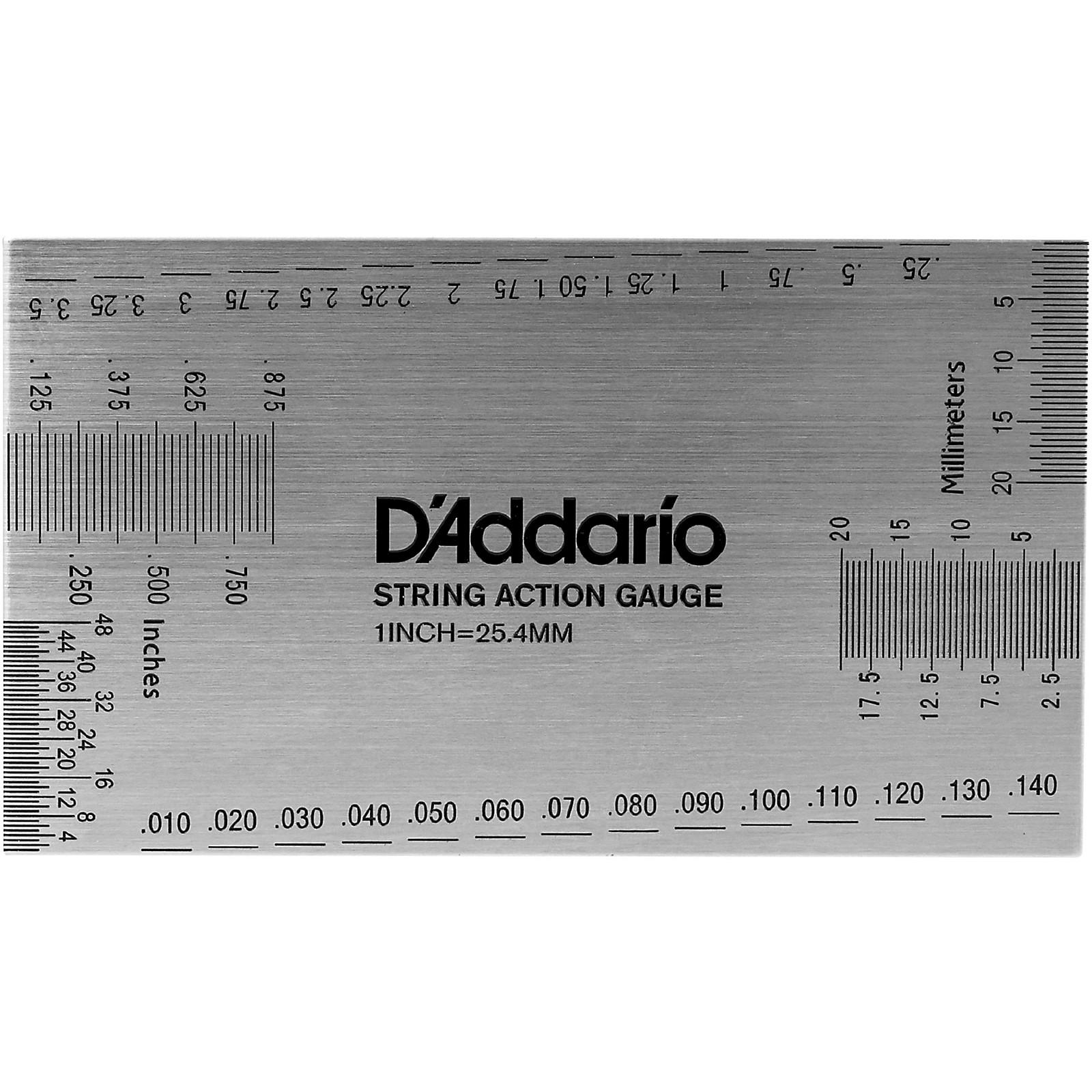 D'Addario Planet Waves String Height Gauge