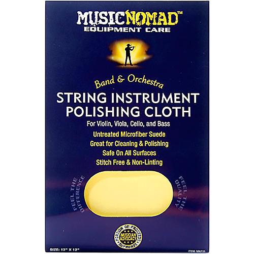 String Instrument Microfiber Polishing Cloth for Violin, Viola, Cello & Bass