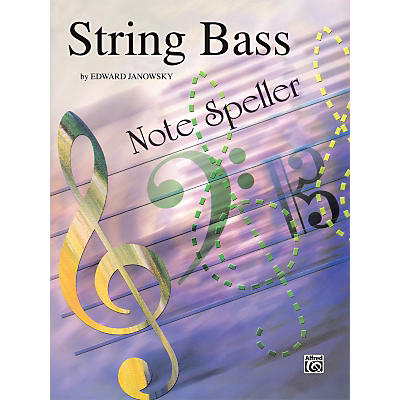 Alfred String Note Speller String Bass