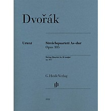 G. Henle Verlag String Quartet A-flat Major Op. 105 Henle Music Folios Series by Antonin Dvorak