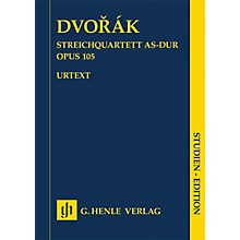 G. Henle Verlag String Quartet A-flat Major Op. 105 Henle Study Scores Series Softcover Composed by Antonin Dvorak