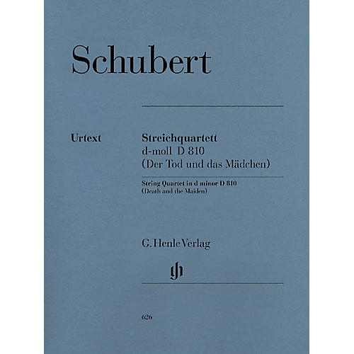 G. Henle Verlag String Quartet D minor D 810 The Death and the Maiden Henle Music Folios Softcover by Franz Schubert