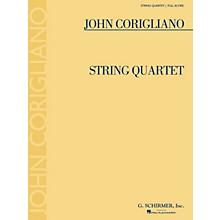 G. Schirmer String Quartet (Full Score) Study Score Series Composed by John Corigliano