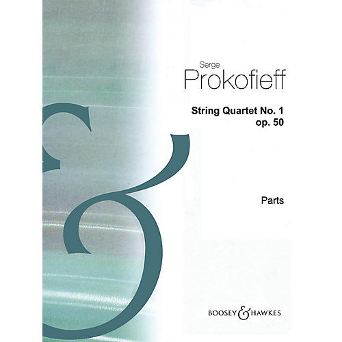 Boosey and Hawkes String Quartet No. 1, Op. 50 (Set of Parts) Boosey & Hawkes Chamber Music Series by Sergei Prokofieff