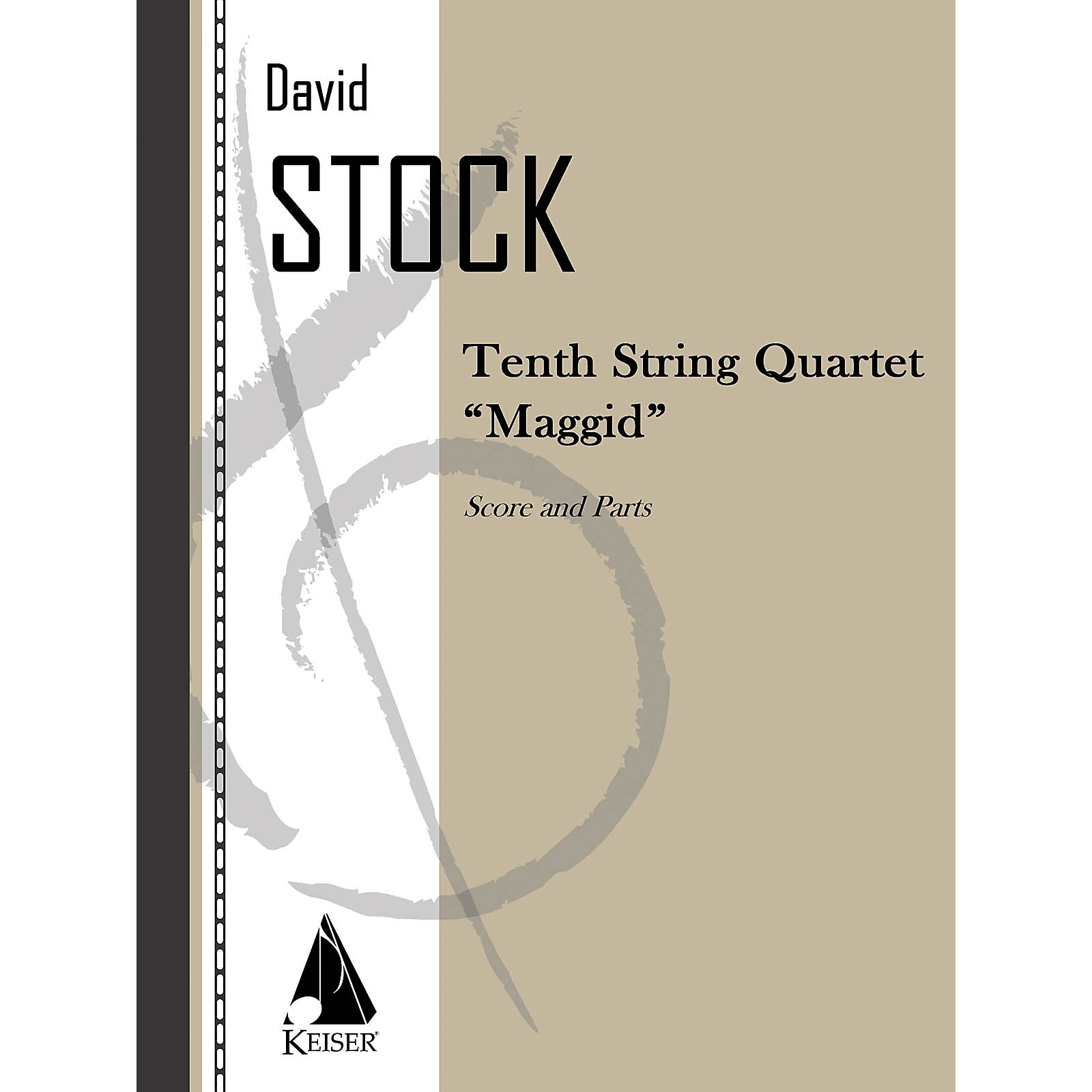 Lauren Keiser Music Publishing String Quartet No. 10 LKM Music Series Composed by David Stock