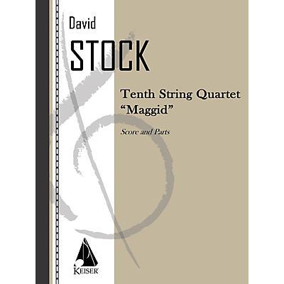 Lauren Keiser Music Publishing String Quartet No. 10 LKM Music Series Composed by David Stock