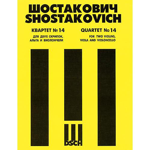 DSCH String Quartet No. 14, Op. 142 (Score) DSCH Series Composed by Dmitri Shostakovich