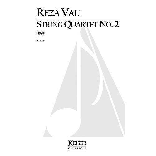 Lauren Keiser Music Publishing String Quartet No. 2 (Full Score) LKM Music Series by Reza Vali