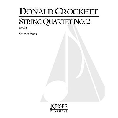 Lauren Keiser Music Publishing String Quartet No. 2 LKM Music Series Composed by Donald Crockett
