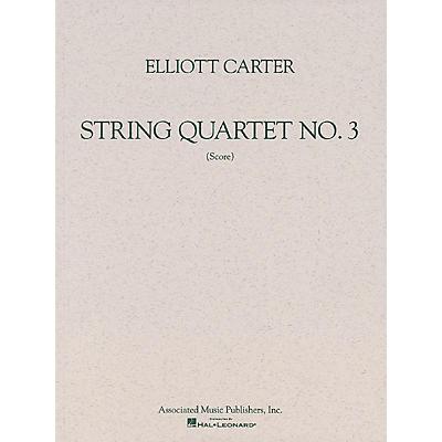 Associated String Quartet No. 3 (1971) (Study Score) Study Score Series Composed by Elliott Carter