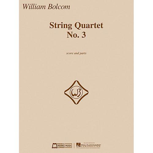 Edward B. Marks Music Company String Quartet No. 3 E.B. Marks Series Composed by William Bolcom