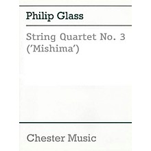 Music Sales String Quartet No. 3 (Mishima) Music Sales America Series Composed by Philip Glass