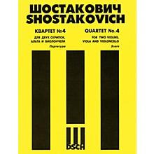 DSCH String Quartet No. 4, Op. 83 (Score) DSCH Series Composed by Dmitri Shostakovich