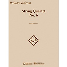 Edward B. Marks Music Company String Quartet No. 6 E.B. Marks Series Composed by William Bolcom