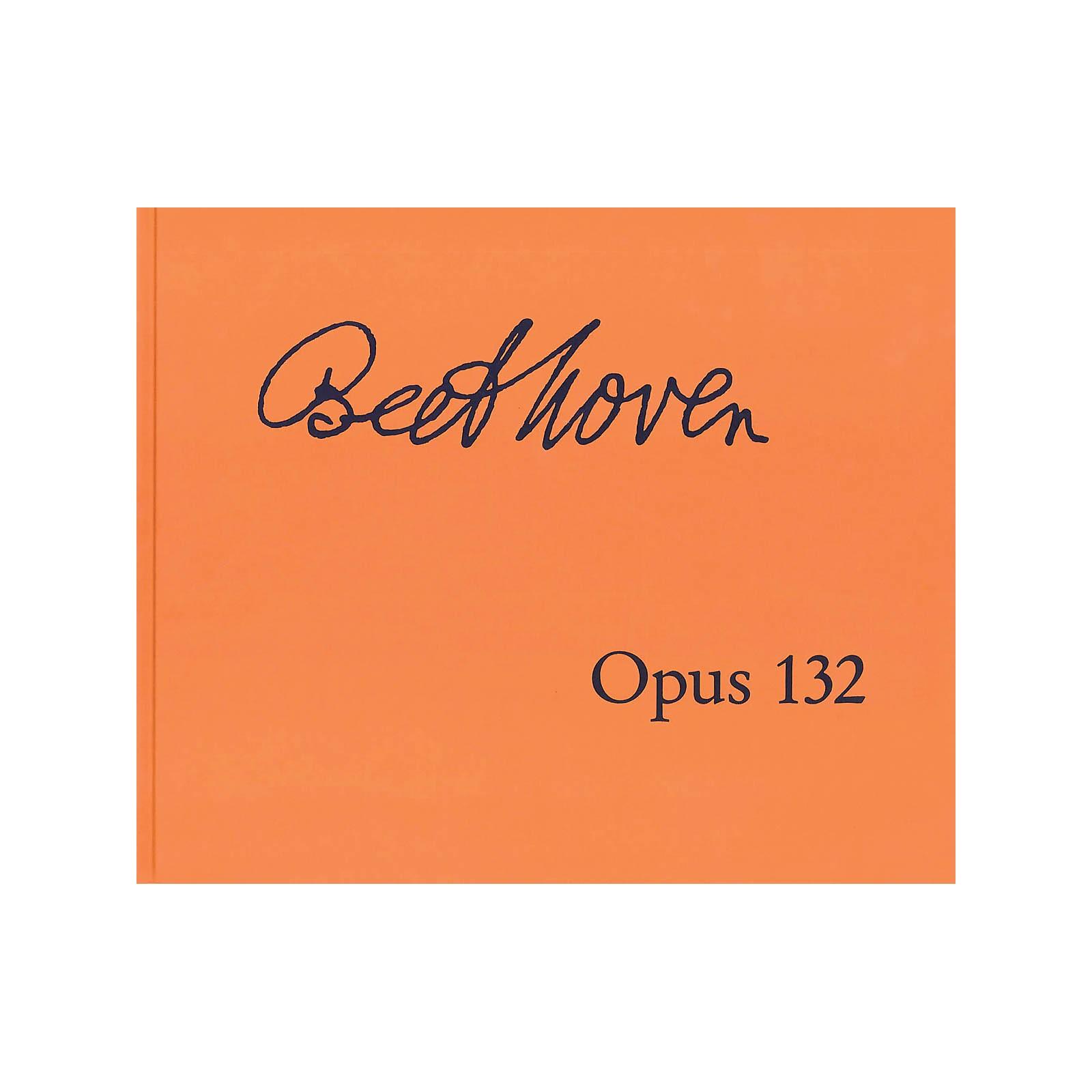 G. Henle Verlag String Quartet in A Minor, Op. 132 Henle Facsimile Series Hardcover Composed by Ludwig van Beethoven