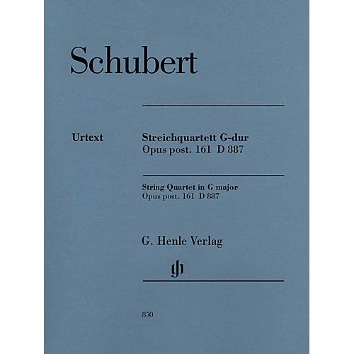 G. Henle Verlag String Quartet in G Major, Op. post. 161 D 887 Henle Music Folios by Franz Schubert Edited by Egon Voss