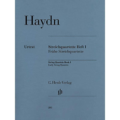G. Henle Verlag String Quartets - Volume I Henle Music Folios Series Softcover Composed by Franz Josef Haydn