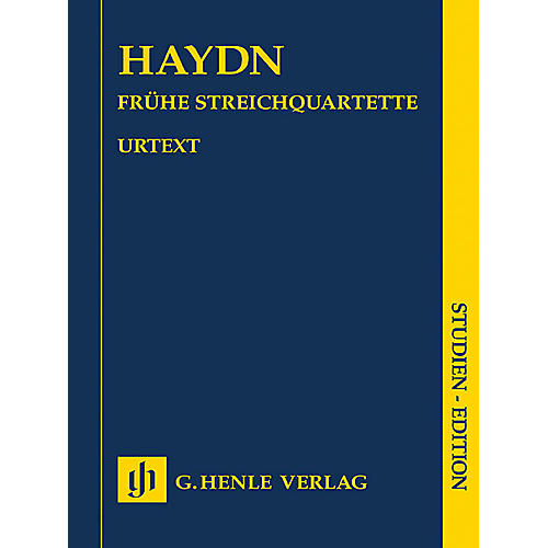 G. Henle Verlag String Quartets - Volume I Henle Study Scores Series Softcover Composed by Franz Joseph Haydn