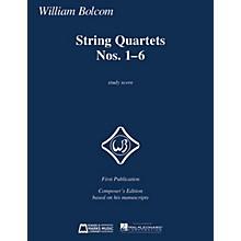 Edward B. Marks Music Company String Quartets Nos. 1-6 (Study Score) E.B. Marks Series Softcover Composed by William Bolcom