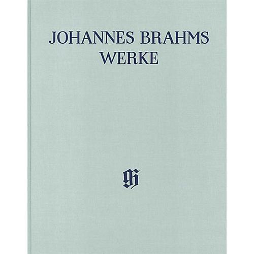 G. Henle Verlag String Quartets Op. 51 and 67 Henle Edition Hardcover by Johannes Brahms Edited by Salome Reiser